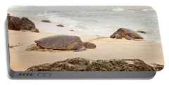 Island Rest Portable Battery Charger by Heather Applegate