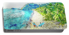 Island Surfers Portable Battery Charger