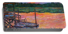 Isle Of Palms Sunset Portable Battery Charger