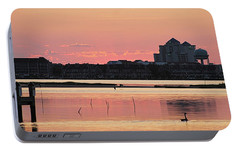 Portable Battery Charger featuring the photograph Isle Of Wight Dawn by Robert Banach