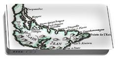 Isles Saint Jean - Prince Edward Island - 1774 Portable Battery Charger