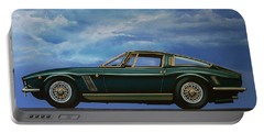 Iso Grifo Gl 1963 Painting Portable Battery Charger