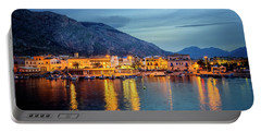 Isola Delle Femmine Harbour Portable Battery Charger by Ian Good