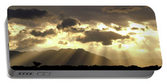 Portable Battery Charger featuring the photograph Israeli Desert Sunrise At Timna by Yoel Koskas
