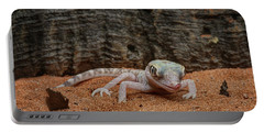 Portable Battery Charger featuring the photograph Israeli Sand Gecko - 1 by Nikolyn McDonald