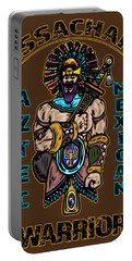 Issachar Aztec Warrior Portable Battery Charger