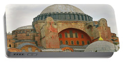 Portable Battery Charger featuring the photograph Istanbul Dome by Munir Alawi