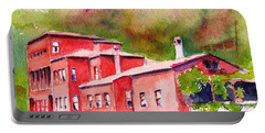 Portable Battery Charger featuring the painting Istanbul Hekimbasi Salih Efendi 1 by Carlin Blahnik CarlinArtWatercolor