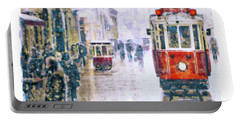 Istanbul Nostalgic Tramway Portable Battery Charger