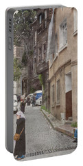 Portable Battery Charger featuring the photograph Istanbul, Turkey - The Phone Call by Mark Forte