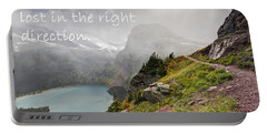 It Feels Good To Be Lost In The Right Direction - Montana Portable Battery Charger