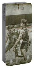 Portable Battery Charger featuring the photograph It Is My Ball by Ronald Santini