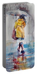 It Is Raining Portable Battery Charger
