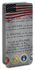 It Is The Soldier Portable Battery Charger