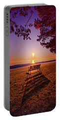 Portable Battery Charger featuring the photograph It Is Words With You I Seek by Phil Koch
