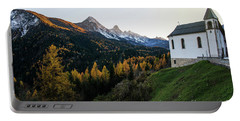 Portable Battery Charger featuring the photograph Italian Alps I by Yuri Santin