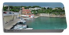 Italian Harbor - Puglia Portable Battery Charger
