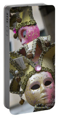 Italian Mask In Venice Portable Battery Charger