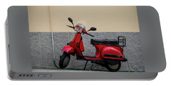 Portable Battery Charger featuring the photograph Italian Transportation by Jean Haynes