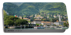 Italian Village On Lake Como Portable Battery Charger