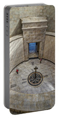 Portable Battery Charger featuring the photograph Italian World War One Shrine #3 by Stuart Litoff
