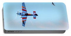 It's A Bird And A Plane, Red Bull Air Show, Rovinj, Croatia Portable Battery Charger