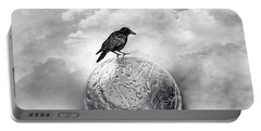 It's A Crow's World Portable Battery Charger