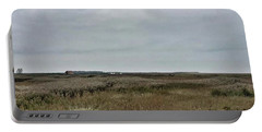It's A Grey Day In North Norfolk Today Portable Battery Charger by John Edwards