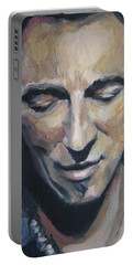 It's Boss Time II - Bruce Springsteen Portrait Portable Battery Charger