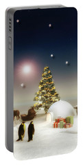 It's Christmas Time Portable Battery Charger