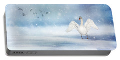 It's Snowing Portable Battery Charger