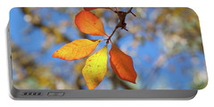 Portable Battery Charger featuring the photograph It's Time To Change by Linda Unger