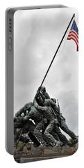 Iwo Jima Memorial Portable Battery Charger