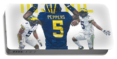 Jabrill Peppers Portable Battery Charger