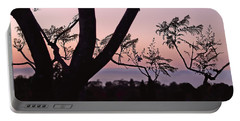 Jacaranda Silhouette Portable Battery Charger