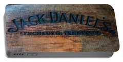 Jack Daniels Oak Barrel Portable Battery Charger
