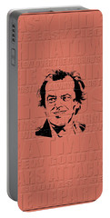 Jack Nicholson Portable Battery Charger by Andrew Fare