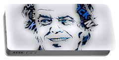 Jack Nicholson Movie Titles Portable Battery Charger