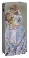 Jack Russell Watching You Portable Battery Charger