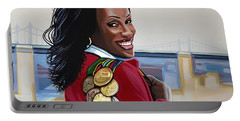 Jackie Joyner Kersee Portable Battery Charger