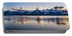 Jackson Lake Portable Battery Charger by Serge Skiba