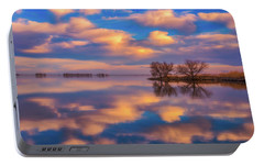 Portable Battery Charger featuring the photograph Jackson Lake Sunset by Darren White