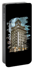 Jackson Tower Portland Oregon Portable Battery Charger by Thom Zehrfeld