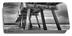 Jacksonville Beach Florida Usa Pier Portable Battery Charger