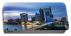Jacksonville Nights Portable Battery Charger