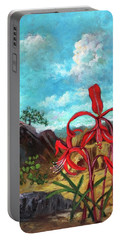 Jacobean Lily Of Mexico Portable Battery Charger