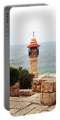 Jaffa Israel Portable Battery Charger by Denise Moore