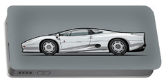 Jag Xj220 Spa Silver Portable Battery Charger