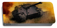 Jagdpanther German Ww2 Tank Portable Battery Charger