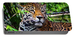 Jaguar At Peace Portable Battery Charger